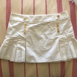 White Juicy Couture skirt